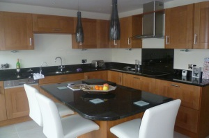 Beautiful bespoke contemporary kitchen in Beaconsfield
